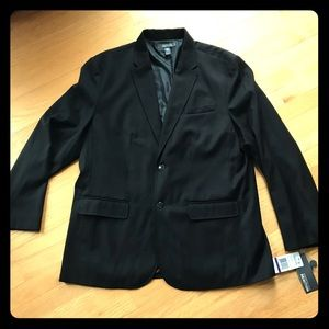 New With Tag Kenneth Cole Black Sport Coat